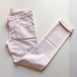 Current/Elliott | The Roller Pink Denim Pants